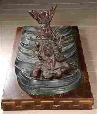 Salvador DALI (1904-1989) Dieu solaire émergeant