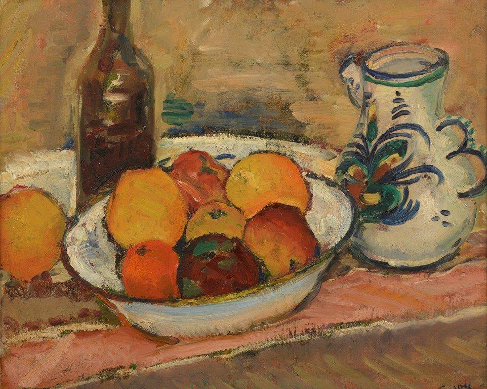 Charles CAMOIN (1879-1965) Nature morte aux pommes, à