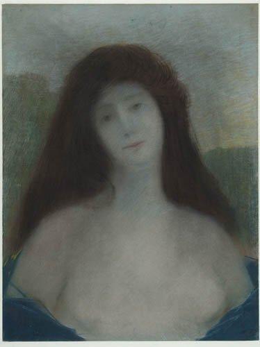 2012003: EDMOND FRANQOIS AMAN-JEAN Buste de femme.
