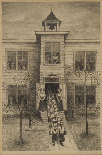 2012010: AMERICAN PRINTMAKERS Three lithographs.
