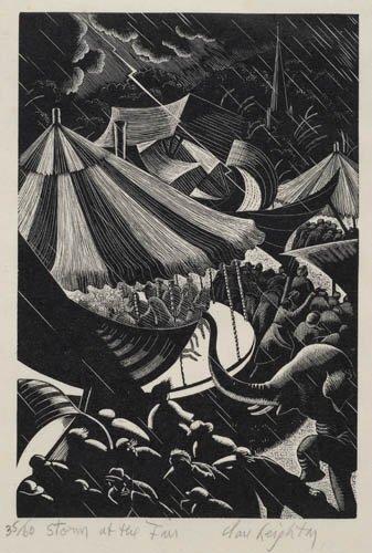 2012012: AMERICAN PRINTMAKERS Three prints.