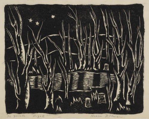 2012015: AMERICAN PRINTMAKERS Three woodcuts.