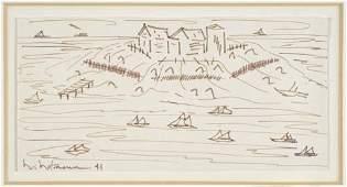 HANS HOFMANN View of Provincetown.
