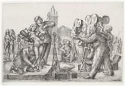 REGINALD MARSH Two prints.