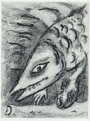 CHAGALL, MARC. Drawings for the Bible.