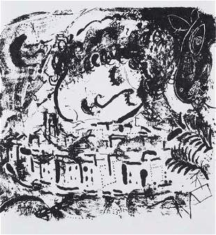 (CHAGALL, MARC.) Lassaigne, Jacques. Chagall.