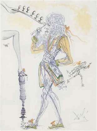 DALÍ, SALVADOR. Dalí Illustre Casanova.