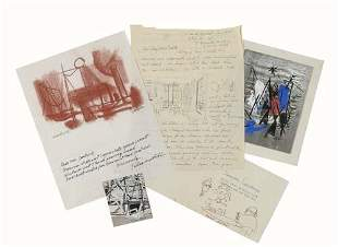 (GOODRICH, LLOYD.) Archive of cards, letters,