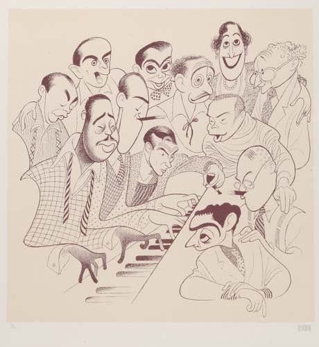 2015004: AL HIRSCHFELD. American Popular Song: Great Am