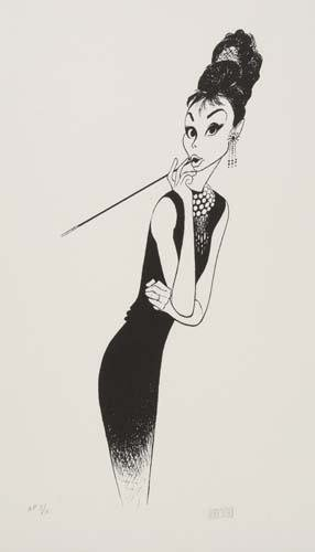 2015023: AL HIRSCHFELD. Breakfast at Tiffany's, II: fea