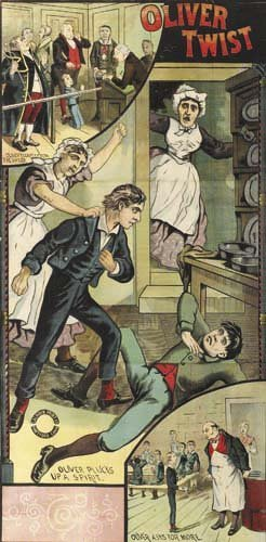 2016001: Posters OLIVER TWIST.