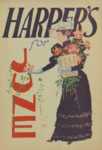 2016007: Posters EDWARD PENFIELD HARPER'S JUNE. 1893.