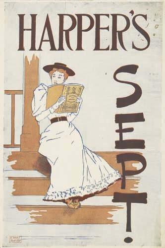 2016009: Posters EDWARD PENFIELD HARPER'S SEPT. 1893.