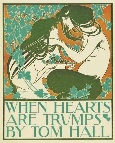 2016018: Posters WILLIAM H. BRADLEY WHEN HEARTS ARE TRU