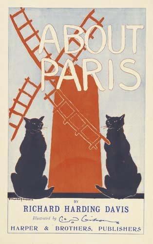 2016077: Posters EDWARD PENFIELD ABOUT PARIS. 1895.