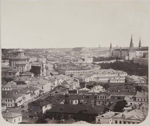 2017005: (RUSSIA) scherer, nabholz & co. View of Moscow