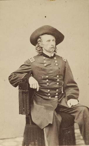 2017019: (CUSTER, GEORGE ARMSTRONG) (1839-1876) goldin