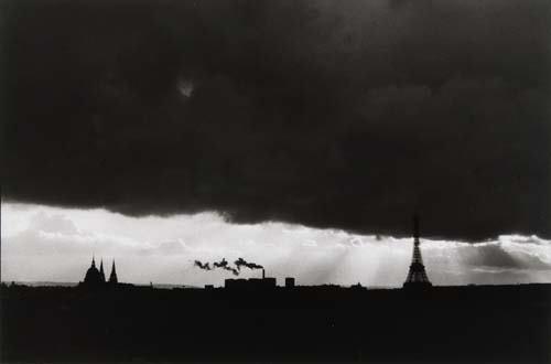 2017336: CARTIER-BRESSON, HENRI (1908-2004) Paris (Eiff