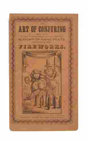 THE ART OF CONJURING Made Easy; or, Instructio