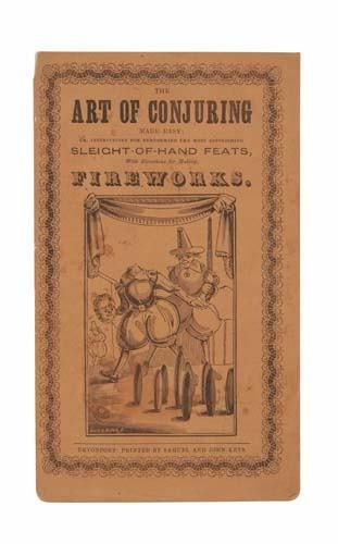 2019019: THE ART OF CONJURING Made Easy; or, Instructio