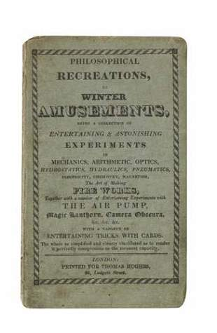[BADCOCK, JOHN.] Philosophical Recreations.
