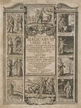 DEL RIO, MARTIN. Disquisitionum Magicarum Libr