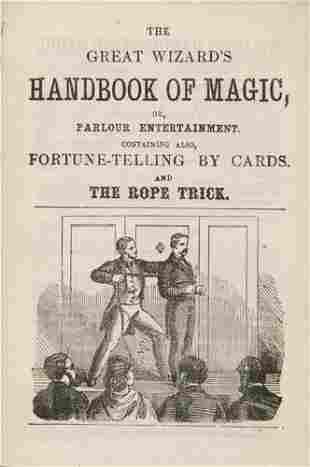 THE GREAT WIZARD'S HANDBOOK of Magic.