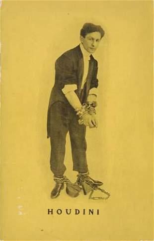 HOUDINI, HARRY. Harry Houdini: The Adventurous