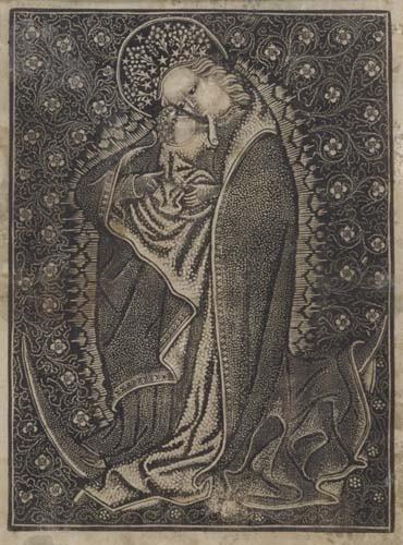 2020001: GERMAN SCHOOL, 15TH-CENTURY The Virgin on a Cr