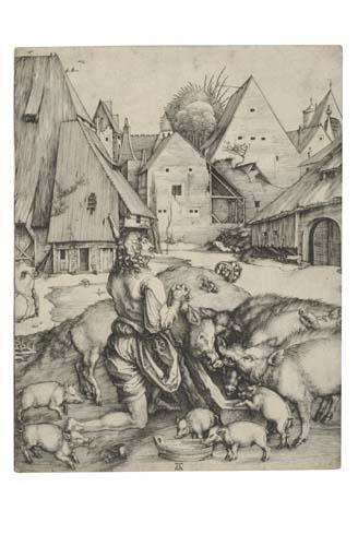 2020006: ALBRECHT DÜRER The Prodigal Son.