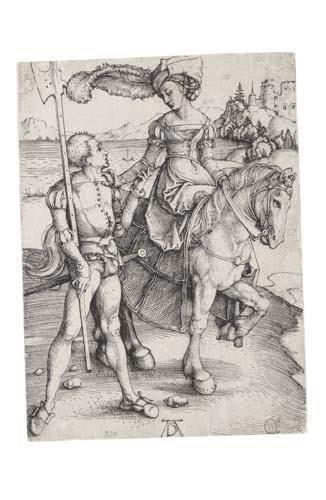 2020007: ALBRECHT DÜRER Lady on Horseback and the Lansq