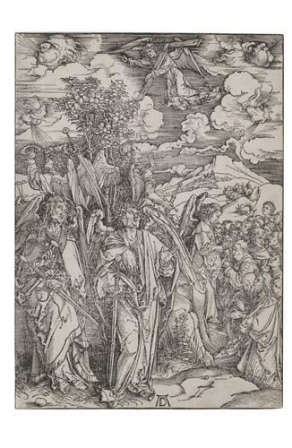 2020009: ALBRECHT DÜRER The Four Angels Holding the Win