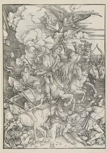 2020010: ALBRECHT DÜRER The Four Horsemen.