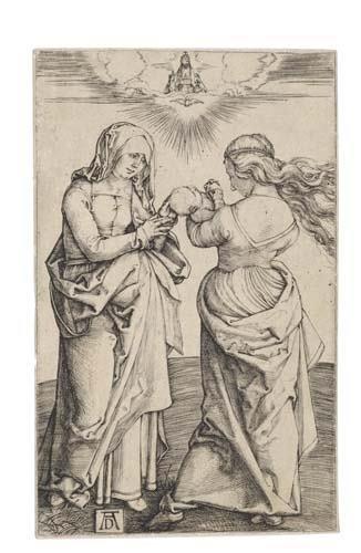 2020013: ALBRECHT DÜRER Virgin with the Infant Christ a