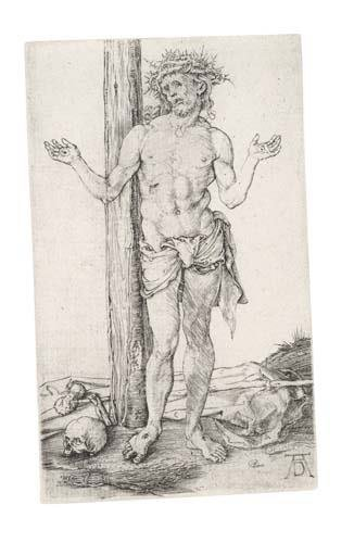 2020014: ALBRECHT DÜRER The Man of Sorrows with Hands O