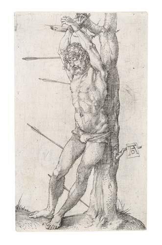 2020015: ALBRECHT DÜRER St. Sebastian Bound to the Tree