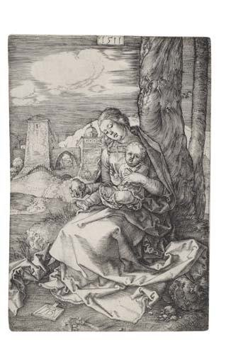 2020017: ALBRECHT DÜRER The Virgin and Child with a Pea