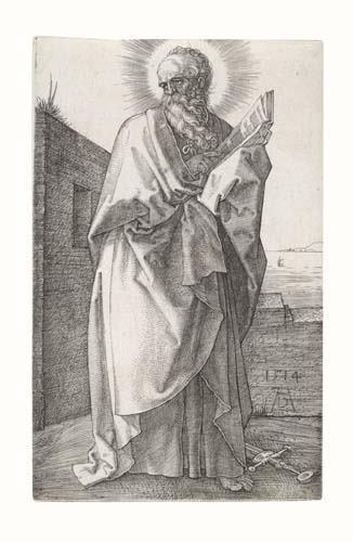 2020018: ALBRECHT DÜRER St. Paul.