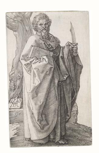2020019: ALBRECHT DÜRER St. Bartholomew.