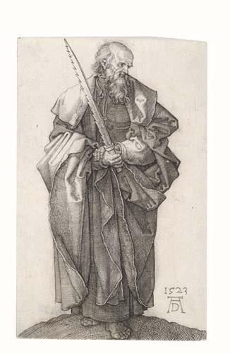 2020020: ALBRECHT DÜRER St. Simon.