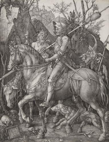 2020021: ALBRECHT DÜRER Knight, Death and the Devil.