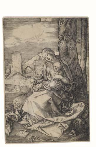 2020163: ALBRECHT DÜRER The Virgin and Child with a Pea