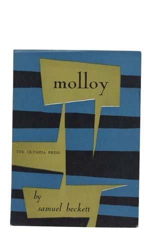 2022018: BECKETT, SAMUEL. Molloy.