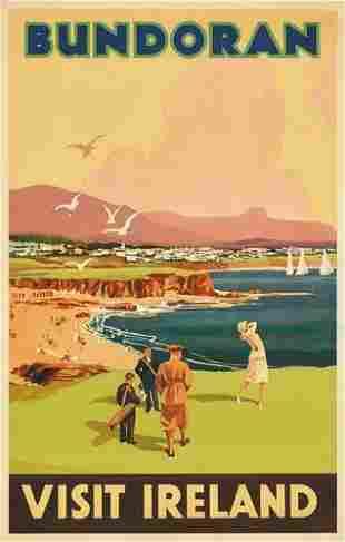 Poster ANONYMOUS. BUNDORAN / VISIT IRELAND. 35