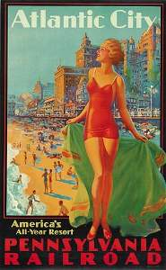 2023074: Poster EDWARD M. EGGLESTON. ATLANTIC CITY / PE