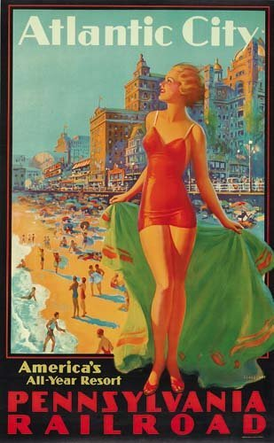 2023074: Poster EDWARD M. EGGLESTON. ATLANTIC CITY / PE