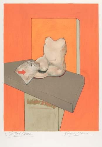 2024012: FRANCIS BACON Study of the Human Body (from a