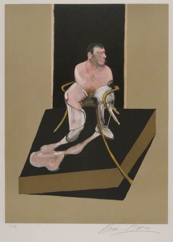 2024013: FRANCIS BACON Triptych 1986-87 (Center Panel).