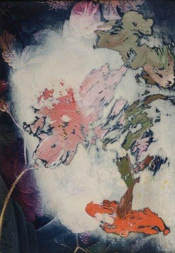 2024022: ROSS BLECKNER Flowers (Untitled).