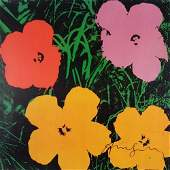 2024259 ANDY WARHOL after  Flowers